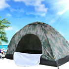 2-4 Person Outdoor Camping Waterproof Folding Tent Camouflage Hiking Family