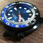 Blue Coated Mirror Glass for SKX007/009 Abalone SRP775/777Samll MM SBDC031/033