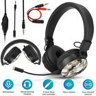 3.5mm Wired Gaming Headset Foldable Stereo Headphone for Nintendo Switch/PS5/PS4