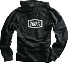 100% Mens Black Corpo Lightweight Hoody