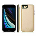 Portable Power Bank Back Pack Battery Charger Case Cover For iPhone 7 8 Plus SE2
