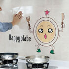 1pc Kitchen Oilproof Removable Wall Stickers Art Decor Home Decal Cartoony^qi