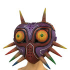 The Legend of Zelda Majora's Glowing Mask Halloween Cosplay Latex Full Face Mask