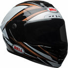 Bell Copper/White/Black Star MIPS Torsion Motorcycle Full Face Helmet Snell