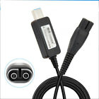 USB Power Charger Adapter Cord Cable For Philips OneBlade Shaver QP2520 QP2630