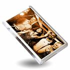 Photo Fridge Magnet Blank Clear Acrylic Rectangular Square Insert Your Own Image