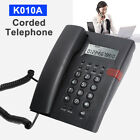 K010A Digital Corded Telephone Desktop Phone W/ Caller ID For Home Office Hotel