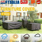 Waterproof Furniture Cover Garden Patio Rain Uv Table Chair Protector Outdoor Au