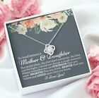 The Bond Between Mother And Daughter Love You Gift For Her Necklace