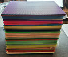 Darice-Quick Count 10.5' x 13.5'  Plastic Canvas Sheets Many Colors NOS