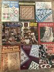 Quilt Pattern Books YOUR CHOICE some vintage Great variety! Pre-owned