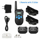 Dog Shock Collar With Remote Waterproof Electric For Large 330 Yard Pet Training