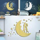 Creative Wall Stickers Diy Decoration Home Mirror Removable Room Stars