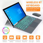 For Microsoft Surface Pro 3 4 5 6 7 Bluetooth Wireless Keyboard Touch Pad Cover