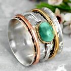 Fashion Women Turquoise Ring Wedding Jewelry 925 Silver Rings Gift Sz 6-13