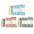 8 Pieces Rc Car Steering Servo Linkage Linkages Pull Rod Wpl Upgrade Parts