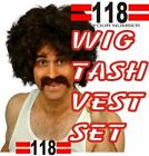 118 FANCY DRESS OUTFIT RETRO INC'S WIG TASH AND VEST