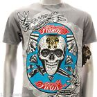 Minute Mirth T-shirt Sz L Tattoo Skull m36 many colors