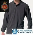 New Embroidered Long Sleeved Polo Shirts