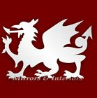 Acrylic WELSH DRAGON Mirror Wall/Card Decor **3for2**
