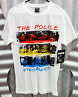 THE POLICE OFFICIAL WOMEN'S SYNCHRONICITY WHITE SHORT SLEEVE T-SHIRT ($29.95rrp)