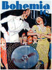 "111.Cuban Quality Design poster""Famous couple singing on the Radio"" Decor"