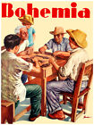 "404.Decor poster""Guayabera family Playing DOMINO""Home room Interior design"