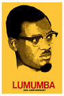 769.Political Poster.Patrice Lumumba.Africa.Congo President history art Spanish