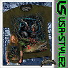 NIGHTSHADE® GOTHIC ART T-SHIRT BLACK FOREST M L XL XXL