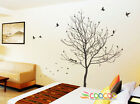 """Wall Decor Decal Sticker Removable large tree trunk LONELY TREE 90"""" DC0288"""