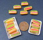 Jumbo Hot Dogs Dolls House Miniature Bakery Kitchen
