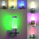 1W LED Indoor Wall Sconces Porch Hall Light Decor Fixture Bulb Hardwired Modern