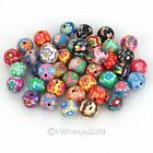 60 Mixed Shape Fimo Polymer Clay Spacer Bead FREE P&P
