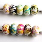 100x Assorted Acrylic Spacer Charms Beads Fit Bracelet
