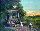3833 Country Family Vintage POSTER.Powerful Graphic Design.Home Art Decorative