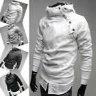 NEW Men's Slim Fit Designed Pullover Casual Hooded Coat Sweatshirt Jacket Tops
