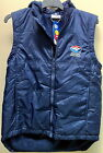 WESTERN BULLDOGS OFFICIAL AFL MEN'S SLEEVELESS FLEECY LINED PARKA WITH HOOD