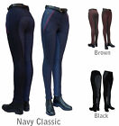 LADIES ALL SIZES check contoured seat jodhpurs on sale horse riding jodphurs