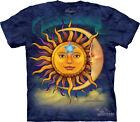 NEW SUN MOON Nature Spiritual Blue Astrology The Mountain T Shirt Adult Sizes