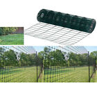 Garden Green Pvc Coated Border Wire Mesh Fence 10m/20m/30m/40m X 0.9m Fencing