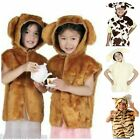 Kids Animal Tabard Bear,Dalmation,Lion,Cat,Blackbird,Tiger Fancy Dress Book Week
