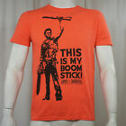 Authentic ARMY OF DARKNESS Ash This is My Boomstick T-Shirt S M L XL XXL NEW