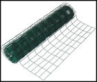 GREEN GARDEN PVC COATED GALVANISED WIRE MESH FENCE - 10M/20M/30M/40M/50M X 0.9M