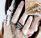 3 color Armour Knuckle Finger Lengthen Gothic Punk Cool Ring Free Shipping Jf529