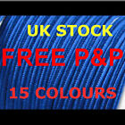 SOUTACHE BRAID 3 MM WIDE 1 METRE 15 LOVELY COLOURS GREAT QUALITY    UK STOCK