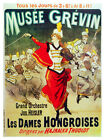5178 Musee Grevin The Hungarian ladies POSTER. Interior design.Decoration Art