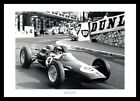 Jim Clark 1963 Monaco Grand Prix Photo Memorabilia (RE081)