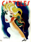 "262.Cuban Fashion poster""Pinup Hair Style""Salon Decor.Carteles cover.Hairstyle"