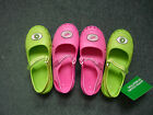 Kids Summer/Beach croc/jelly/ shoe Lime Green/Pink 3 - 2 X.U C of Benetton