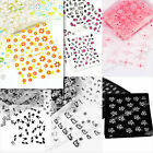 30Pcs 3D Design Nail Art Stickers Tip Decal Manicure Decorations DIY many Design